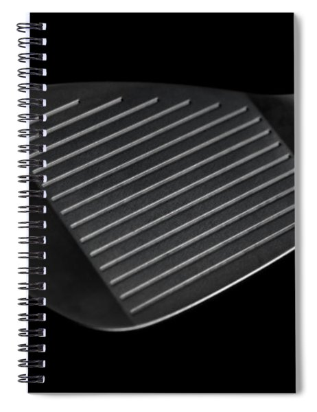 Golf Club Wedge Spiral Notebook