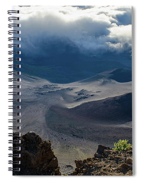 Haleakala Crater Spiral Notebook