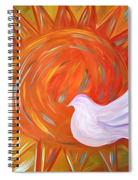 Healing Wings Spiral Notebook