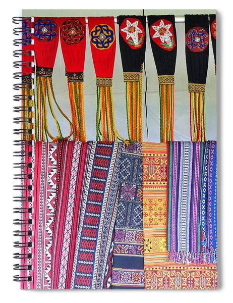 Indigenous Arts And Crafts Spiral Notebook