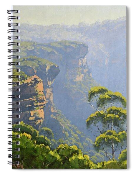 Katoomba Cliffs Spiral Notebook