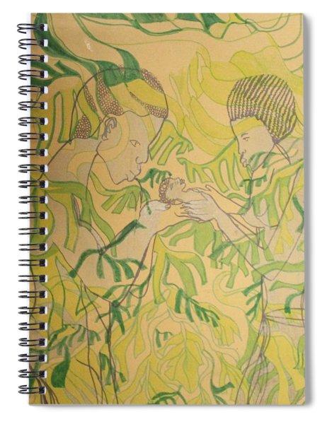 Kintu And Nambi New Beginnings Spiral Notebook