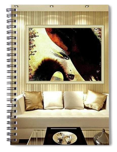 Lady Feast Nature Spiral Notebook