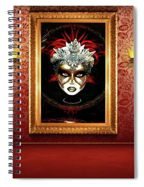 Lady Renaissance La Defense  Spiral Notebook