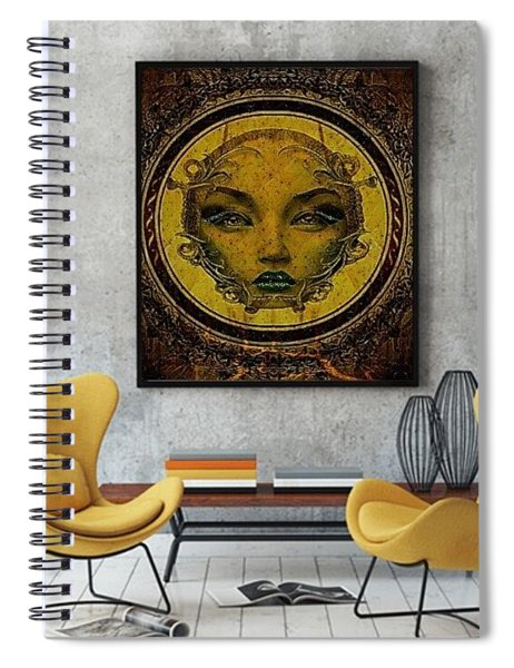 Lady Sanaa Spiral Notebook