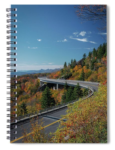 Linn Cove Viaduct - Blue Ridge Parkway Spiral Notebook