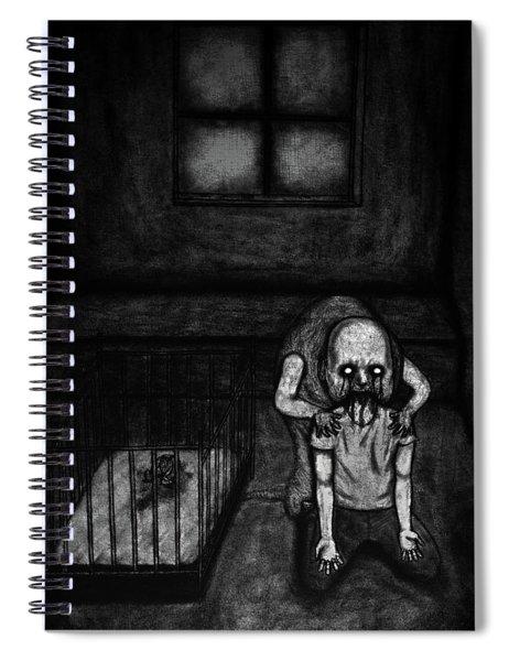 Nightmare Chewer - Artwork Spiral Notebook