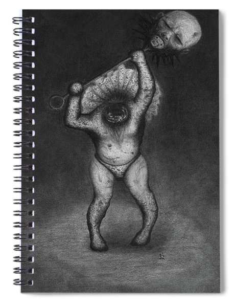 Nightmare Rattler - Artwork Spiral Notebook