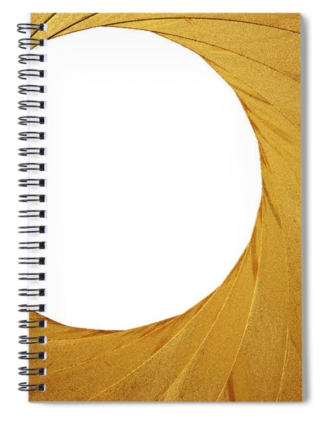 Old Aperture - Exposure Diaphragm Spiral Notebook