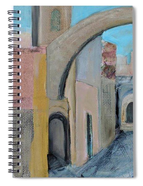 Old City Spiral Notebook