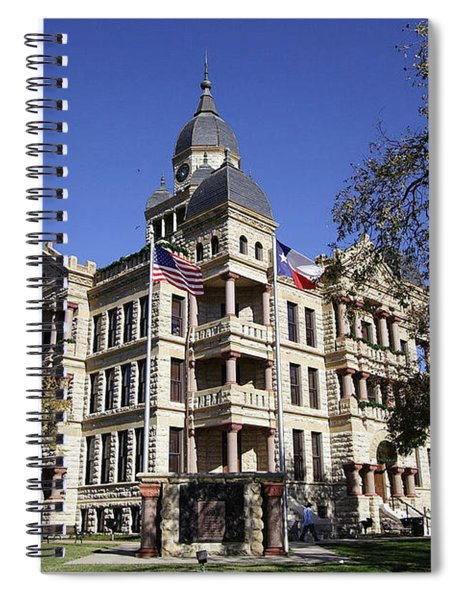 Old Denton Courthouse Spiral Notebook