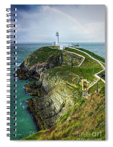 South Stack Lighthouse Spiral Notebook