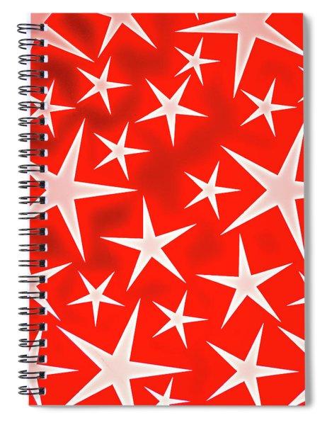 Star Burst 3 Spiral Notebook