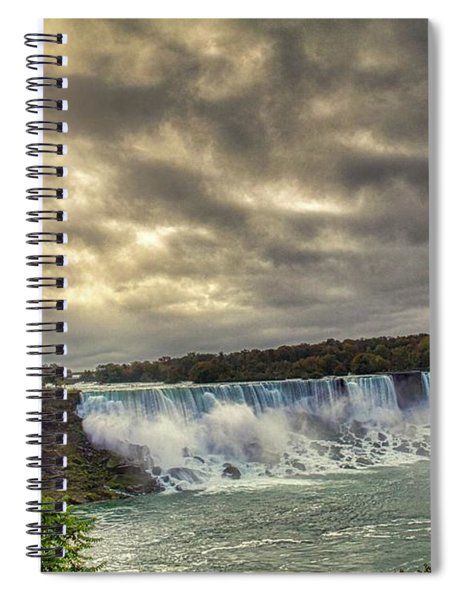 The American Falls Spiral Notebook