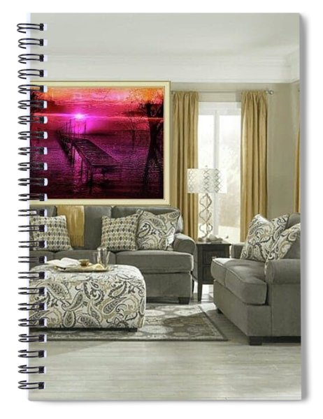 The Bridge Line Spiral Notebook