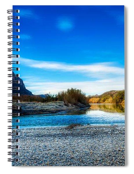 The Rio Grande River Spiral Notebook