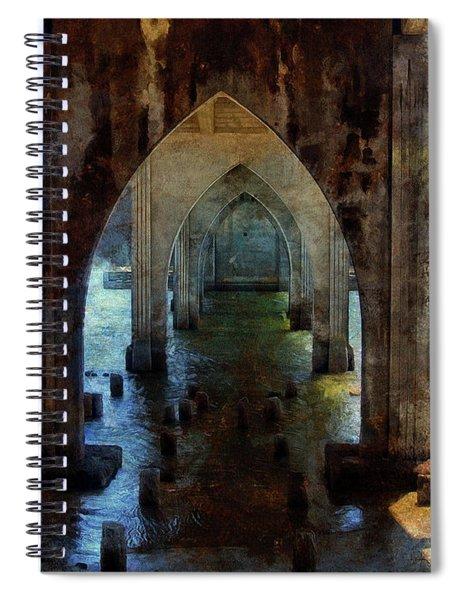 Under The Bridge Spiral Notebook