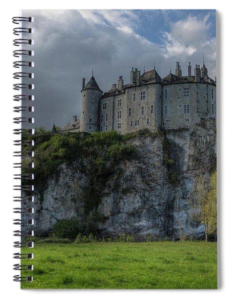 Walzin Castle - Belgium Spiral Notebook