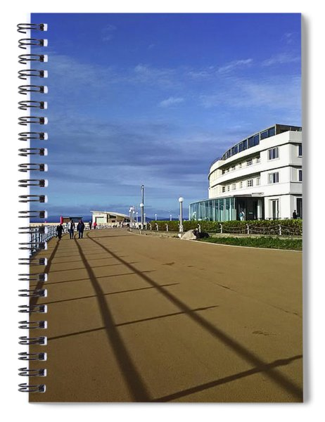 22/09/18  Morecambe. The Midland Hotel. Spiral Notebook