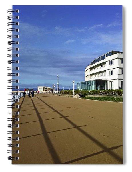 22/09/18  Morecambe. The Midland Hotel. Spiral Notebook