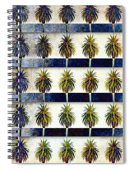 25 Palms Spiral Notebook