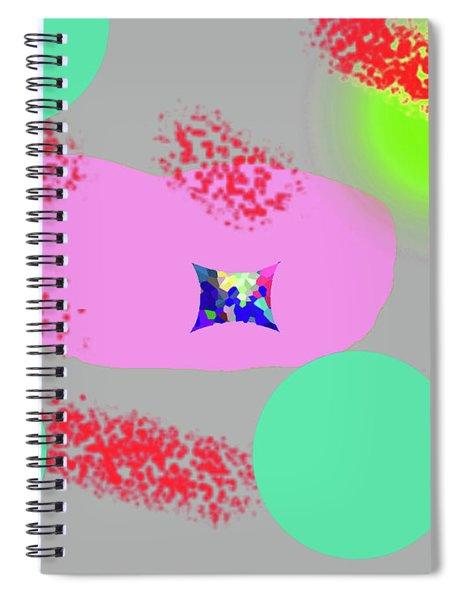 3-18-2009abcdefghijklmnop Spiral Notebook