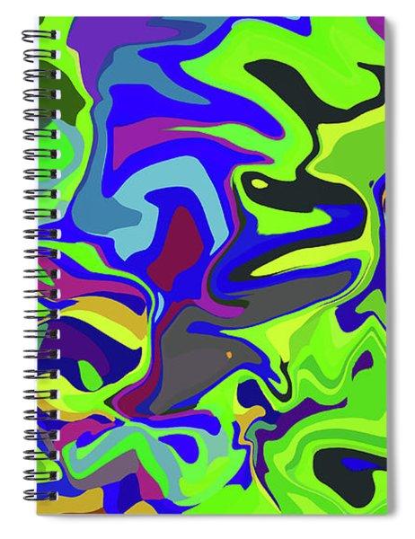 3-8-2009dabcdefgh Spiral Notebook