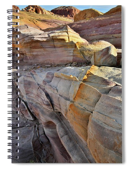 Band Of Gold In Valley Of Fire Spiral Notebook