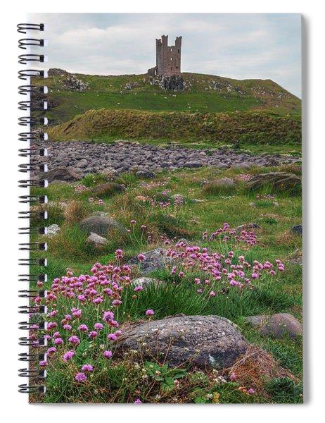 Dunstanburgh Castle - England Spiral Notebook