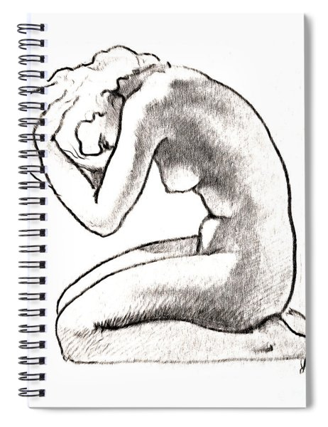 Naked Woman Spiral Notebook