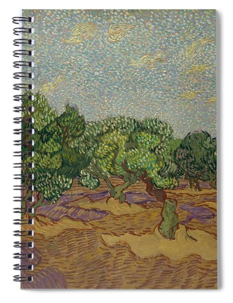 Olive Trees, 1889 Spiral Notebook