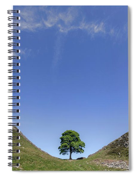 Sycamore Gap - England Spiral Notebook