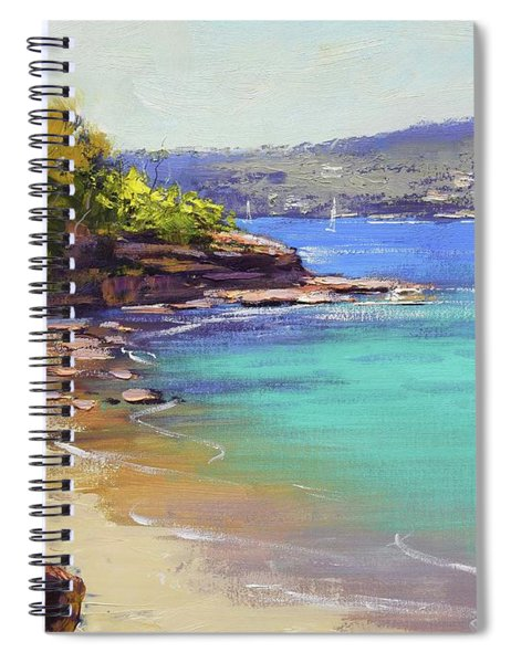 Sydney Harbour Beach Spiral Notebook