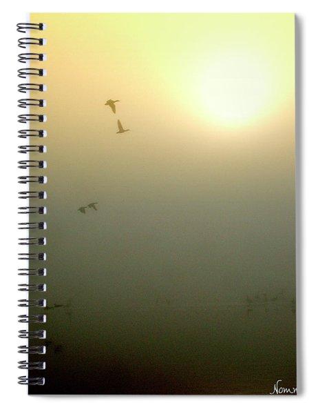 Taking Wing Spiral Notebook