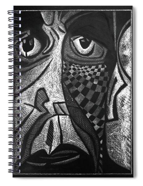 Weary. Spiral Notebook