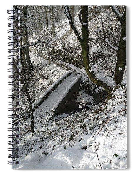 30/01/19  Rivington. Cascade Bridge. Spiral Notebook