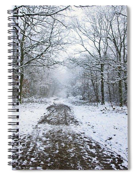 30/01/19  Rivington. Lower Barn. Arboretum Path. Spiral Notebook