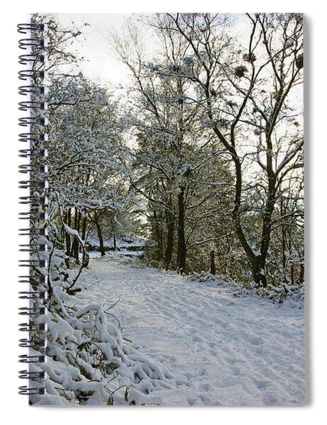 30/01/19  Rivington. Top Path Below The Pigeon Tower. Spiral Notebook