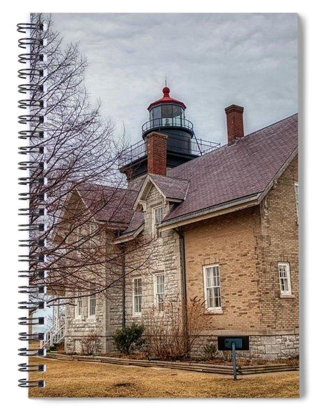 30 Mile Lighthouse  Spiral Notebook