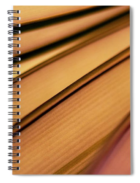 Colorful Abstract Forms Spiral Notebook