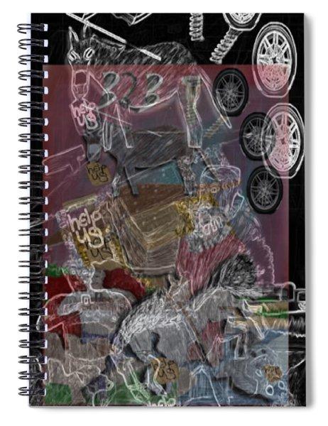 3231900 Spiral Notebook