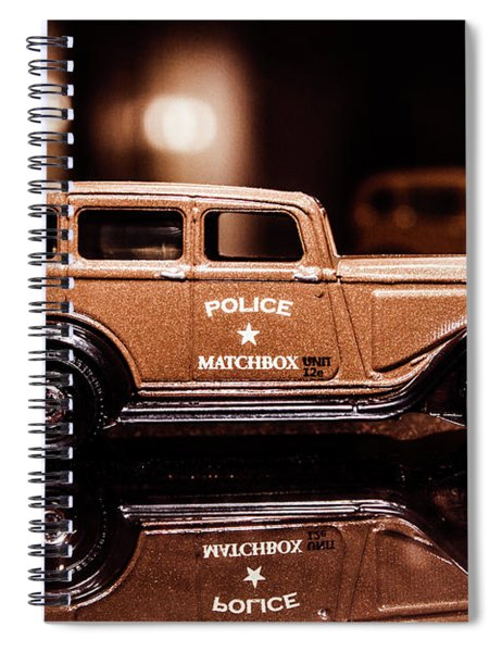 33 Plymouth Police Spiral Notebook