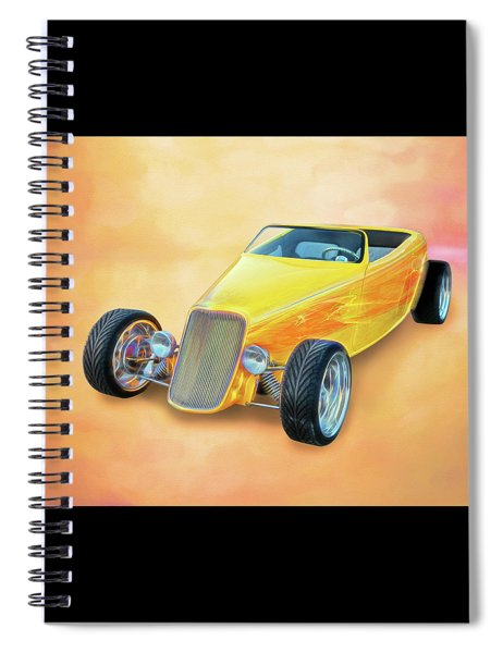 33 Speedstar Spiral Notebook
