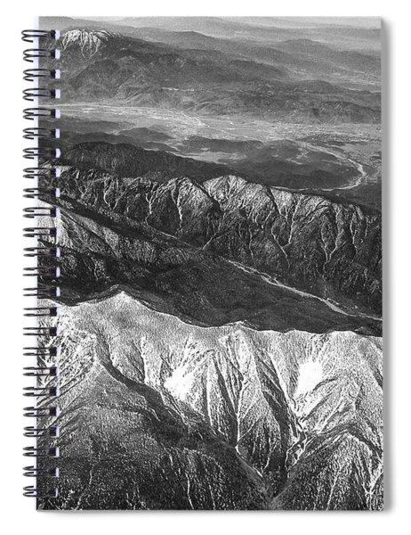35,000 Feet Over Utah Spiral Notebook