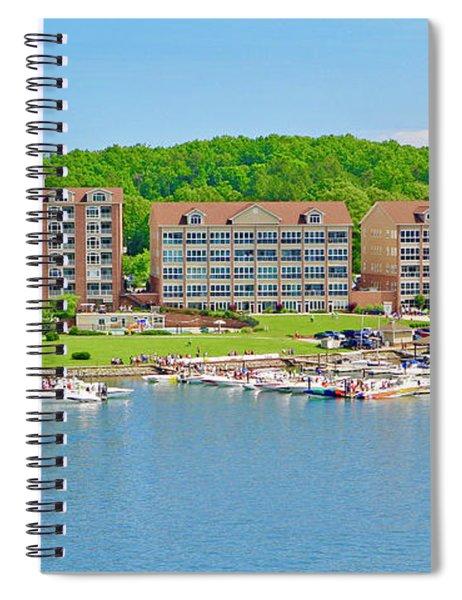 2017 Poker Run, Smith Mountain Lake, Virginia Spiral Notebook