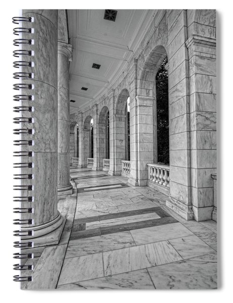 Arlington National Cemetery Memorial Amphitheater Spiral Notebook