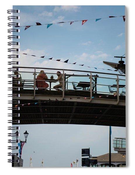 Cardiff Bay  Spiral Notebook