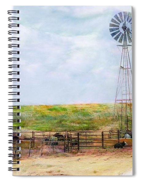 Classic Cattle  Spiral Notebook