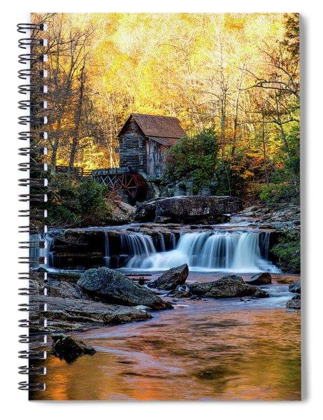 Glade Creek Grist Mill Spiral Notebook