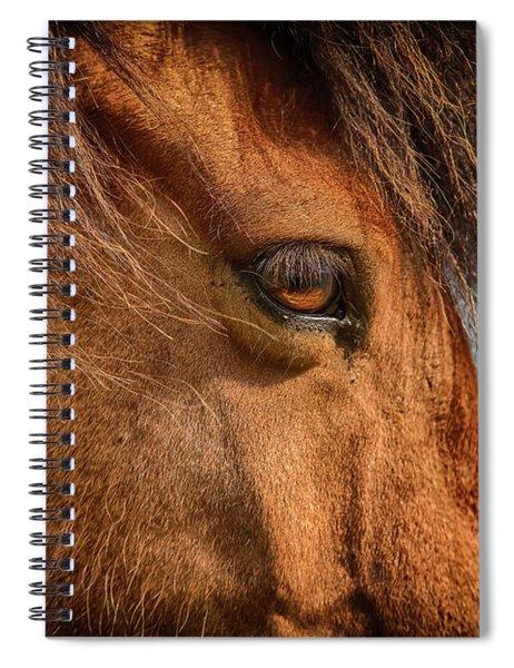 Icelandic Horse Spiral Notebook